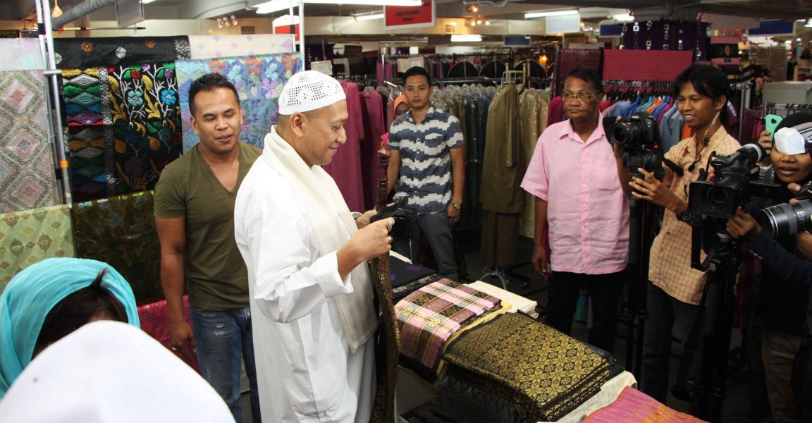 Colours of Aidilfitri 2015 Launched at the Kuala Lumpur Craft Complex
