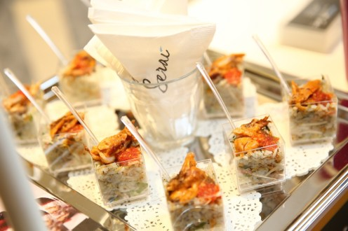 Delicious canapés from Serai at Pavilion Kuala Lumpur's launch of Journey of Taste.