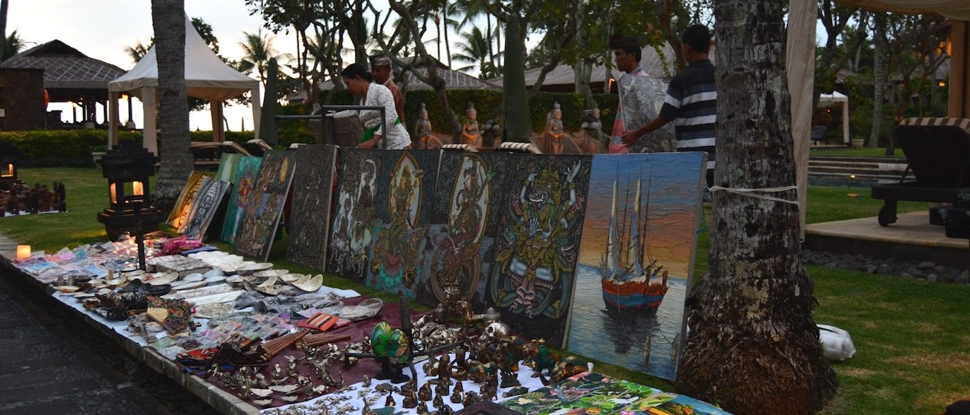 Intercontinental Bali Resort Hosts Twice-Weekly Art Market