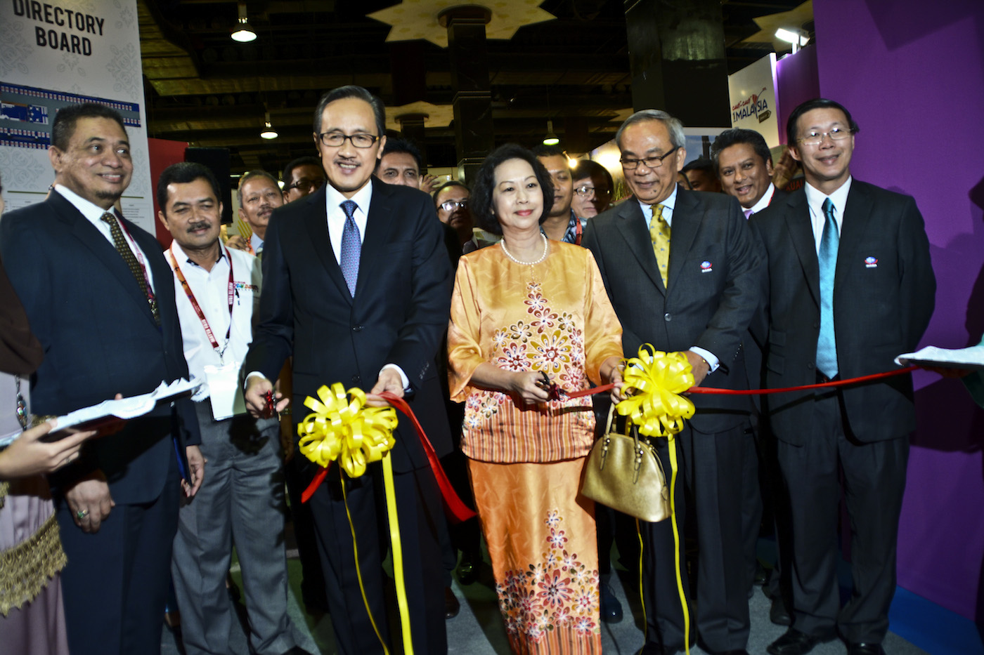 Official launching of the Tourism Malaysia Pavillion.