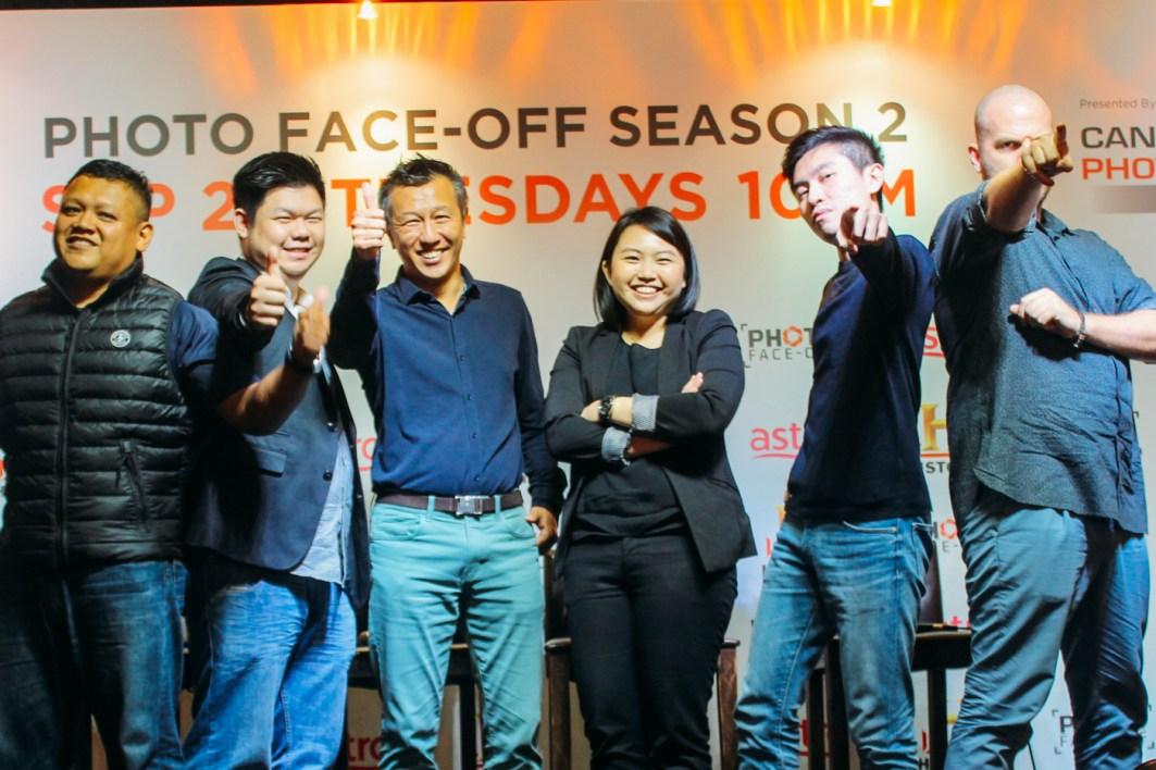 Photo Face-Off Season 2 Press Conference