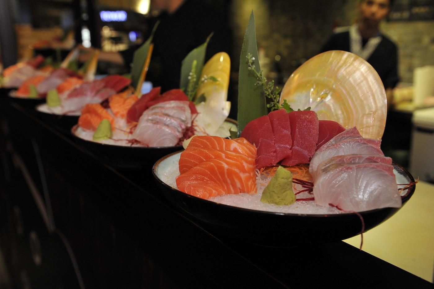 Sashimi 3 Ways
