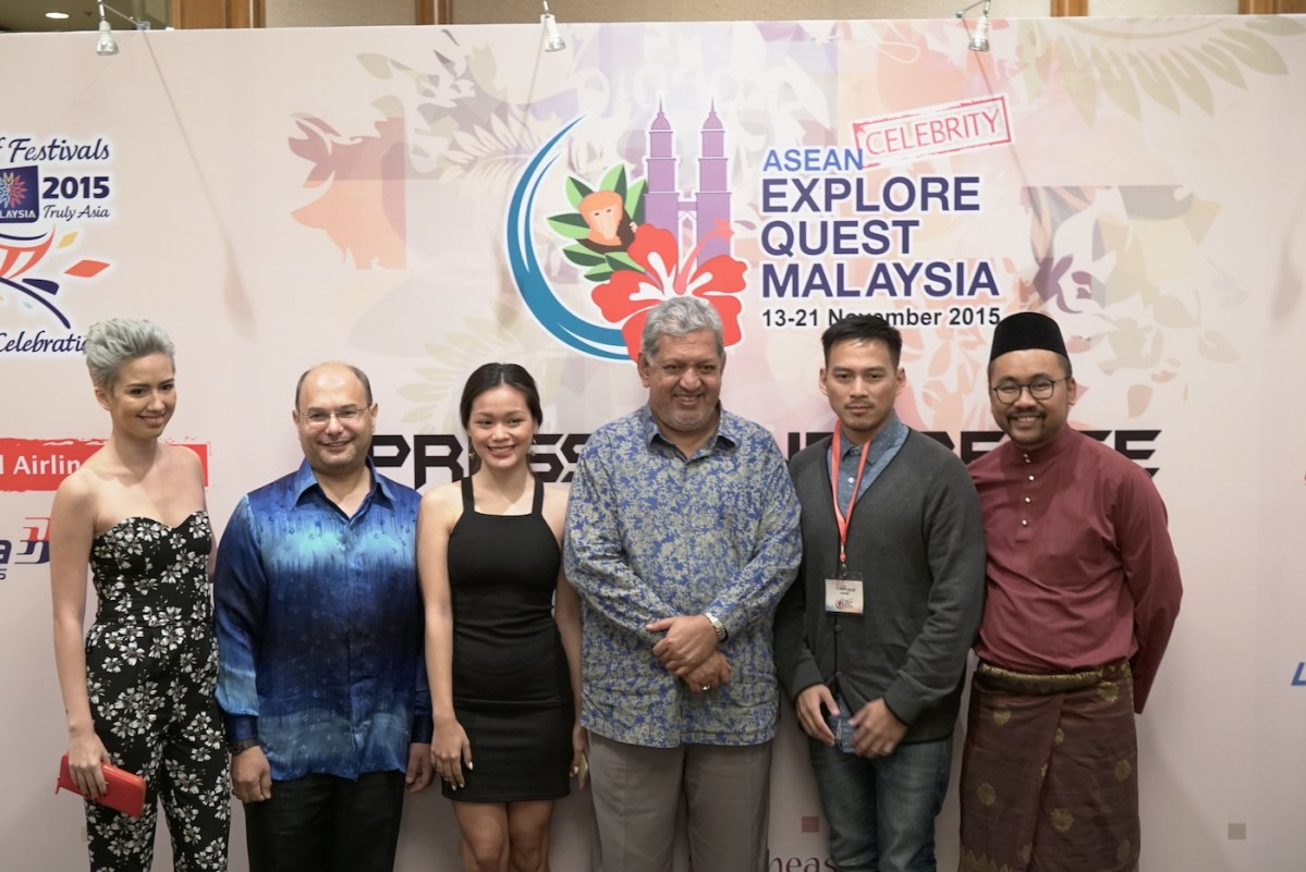 ASEAN Celebs, Media & Tour Agents Participate In The 3rd ASEAN Explore Quest Malaysia