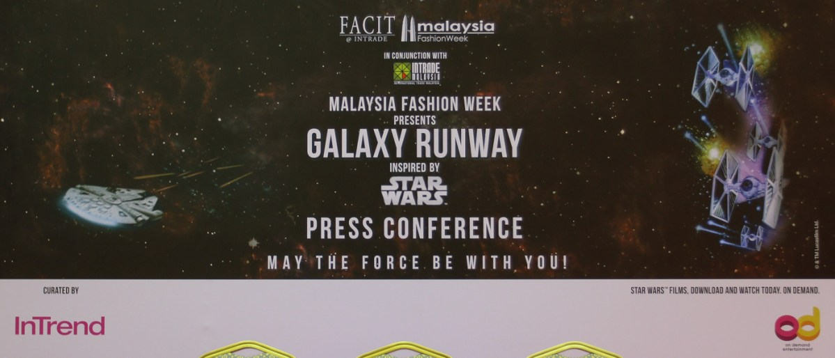 Star-Wars Inspired Fashion Descends Upon Malaysia Fashion Week 2015: The Galaxy Runway