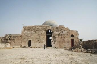 The remnants of the Umayyad complex at Amman Citadel