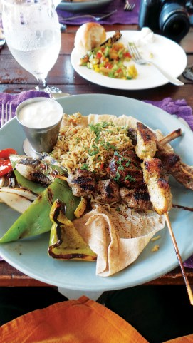 Healthy and hearty lunch to be had in Jordan