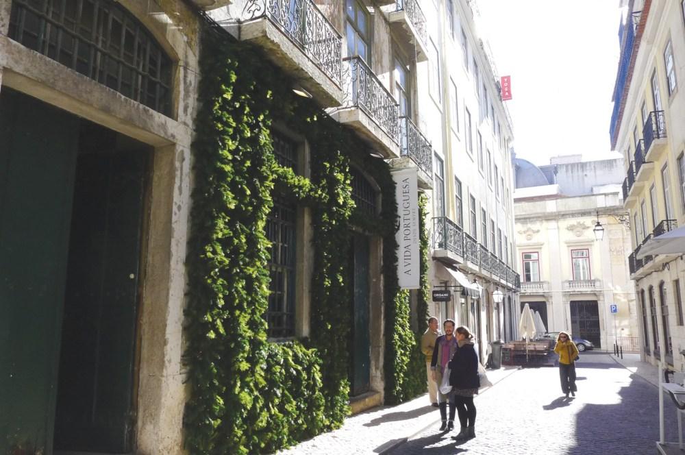 Entrance to A Vida Portuguesa