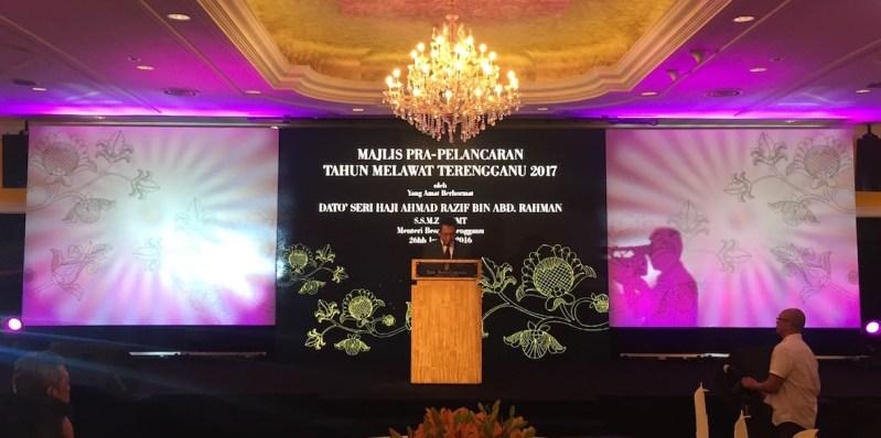 Visit Terengganu Year 2017 Launched