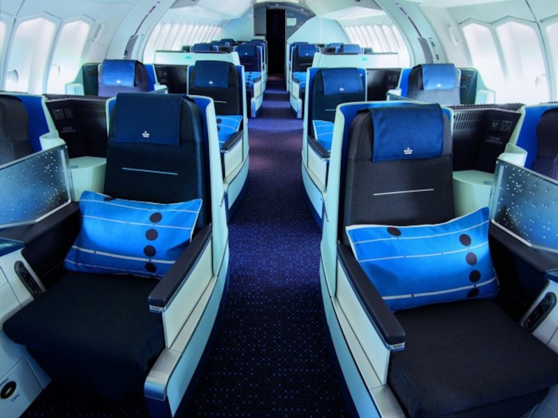 Discover KLM's New World Business Class