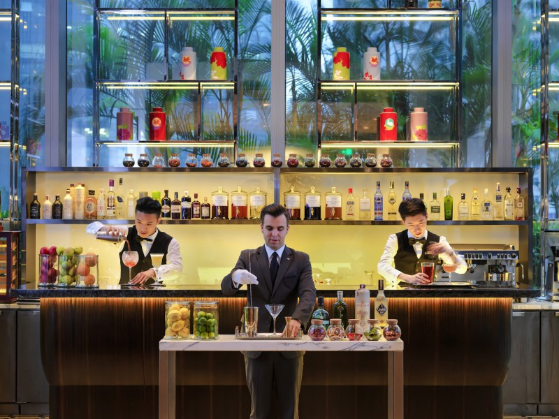 Mandarin Oriental, Guangzhou's Revamped Ebony Restaurant Re-Opens With Its Own Gin Bar