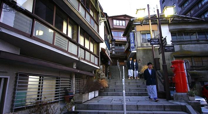 Ikaho Onsen (Image via www.japan-guide.com)