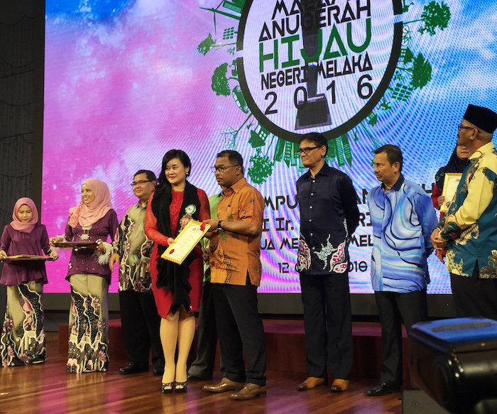 Philea Resort and Spa, Melaka Receives The Green Hotel Award 2016