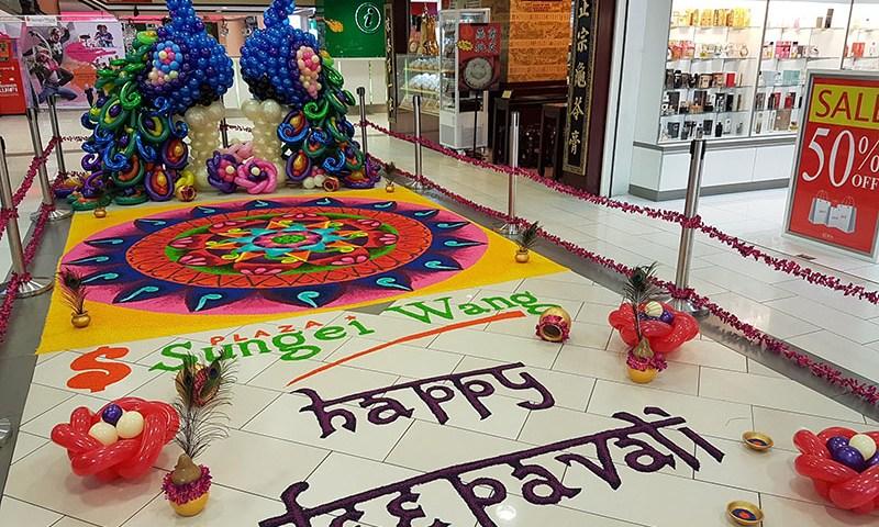 Deepavali Celebration at Sungei Wang Plaza
