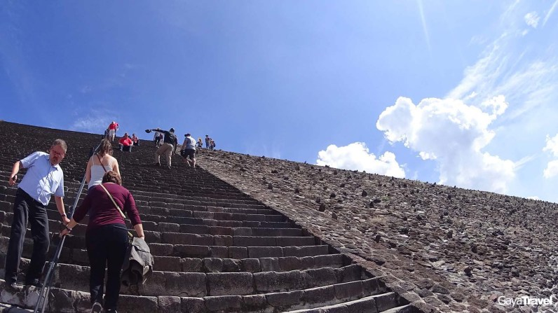 Teotihuacan was an ancient Mesoamerican city. It is listed as a UNESCO World Heritage Site in 1987 and officially named as the Pre-Hispanic City of Teotihuacan.