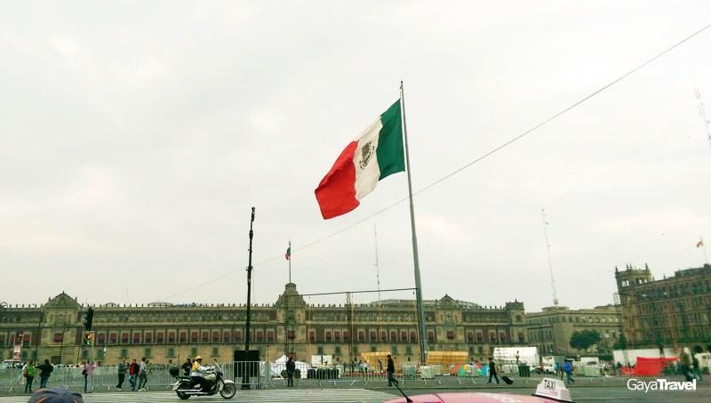 Zocalo, Centro Historico, Mexico City