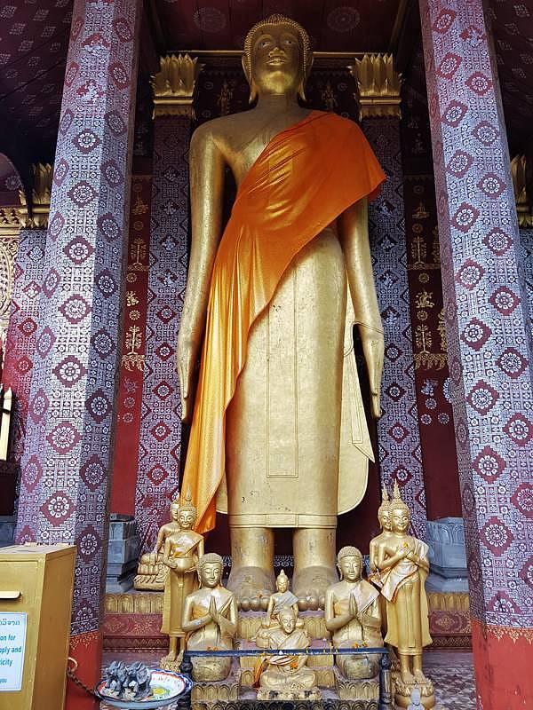 Wat Mai in Luang Prabang