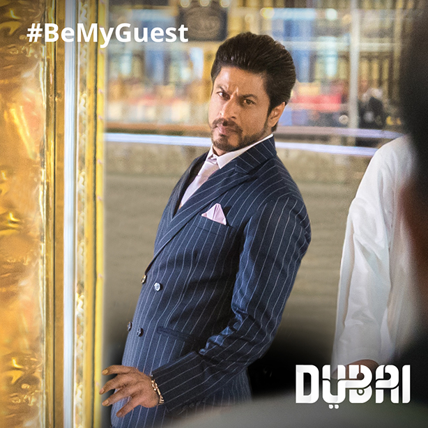 Experience Dubai Like Shah Rukh Khan With Dubai Tourism's SRK #BeMyGuest Competition