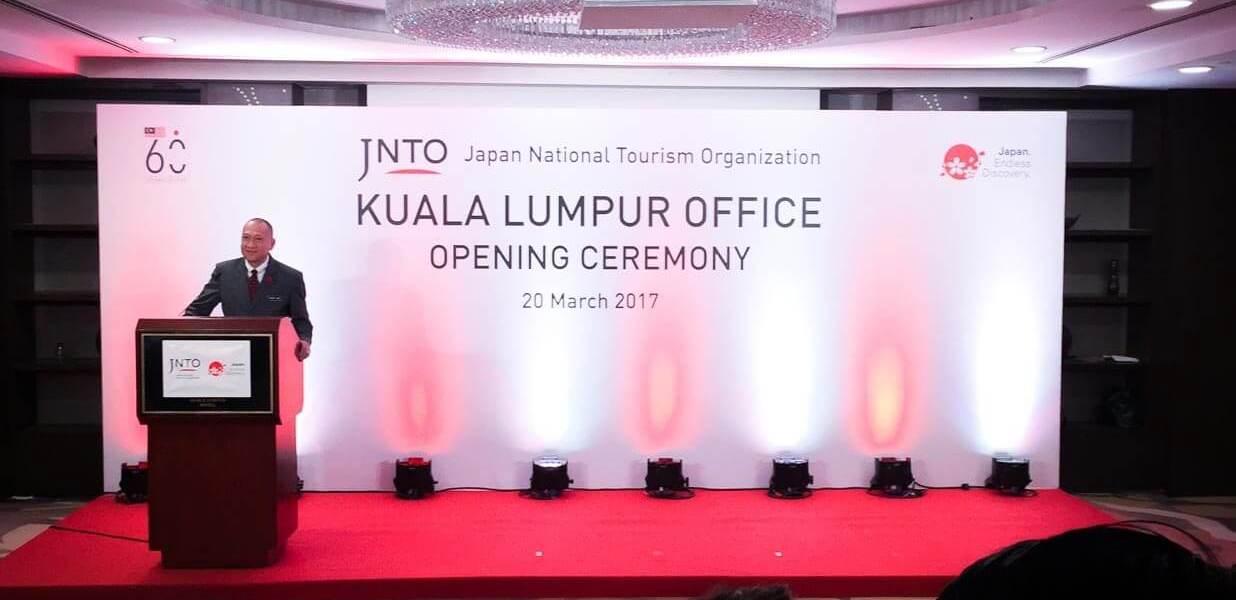 JNTO Officially Opens Kuala Lumpur Office