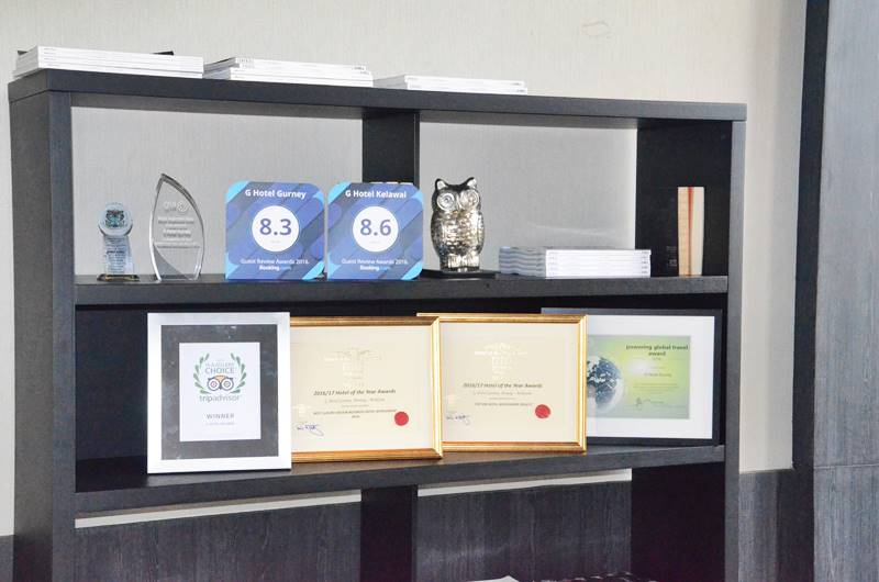 G Hotel Celebrating A New Milepost with Eight Local and International Awards