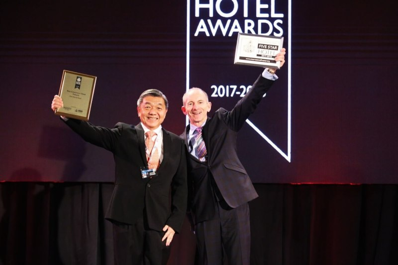 One World Hotel Achieves Back-To-Back Distinctions At  The International Hotel Awards 2017-2018 &  24th World Travel Awards Asia & Australasia 2017