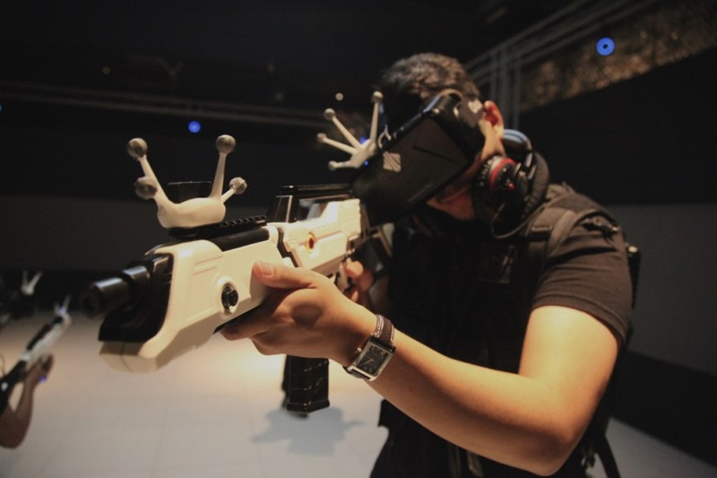 Suit Up! Experience the Hyper-Reality Entertainment at EXA Outpost!
