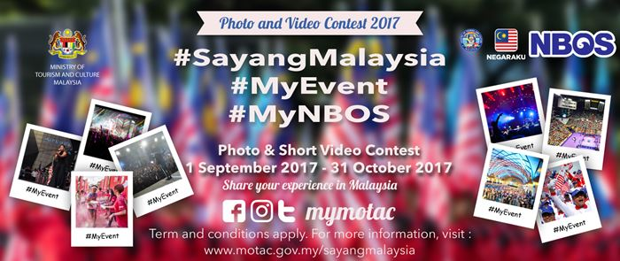 (#SayangMalaysia Social Media Campaign is Back with #MyEvent Photo and Short Video Contest)