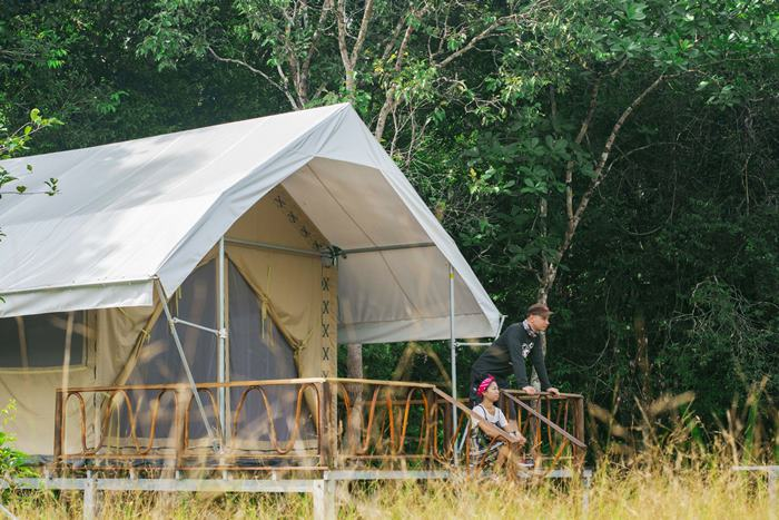 New Cardamom Tented Camp in Cambodia Announces Nature Activities, Packages and Rates
