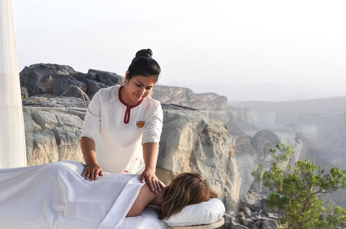 Spa Alila Reaches New Heights with Alila Jabal Akhdar's New Spa Arbour