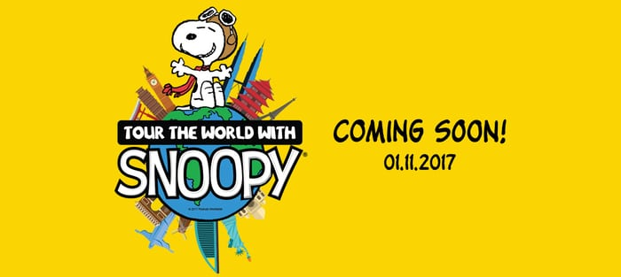 Tour The World with Snoopy