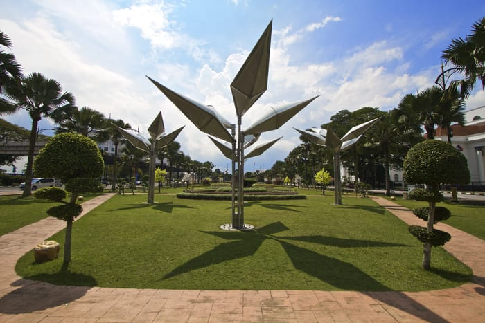 Sultan Abu Bakar Monument Park