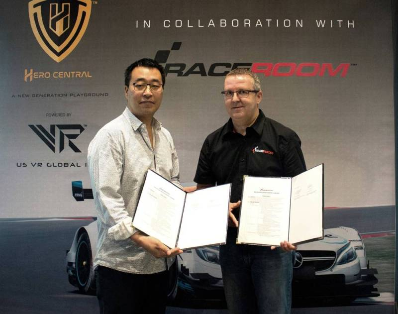 Hero Central and Raceroom Racing Experience to Provide Thrilling Race Car Driving in Malaysia