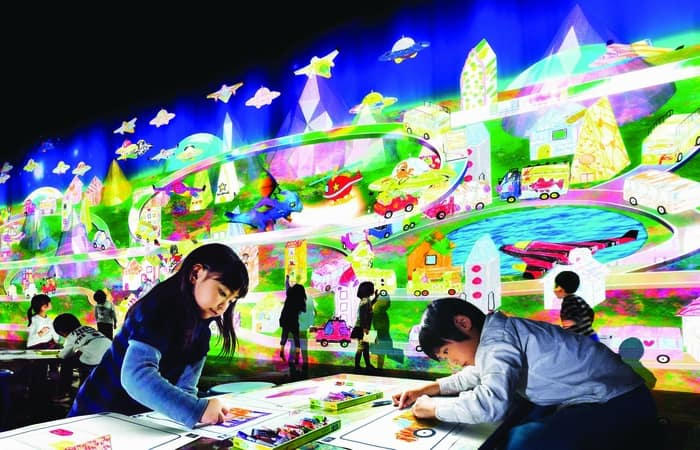 MGM presents Learn & Play! teamLab Future Park at MGM MACAU's Art Space.