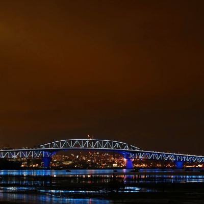 Auckland's iconic harbour bridge will be lit up for New Zealand's national day, WaitangiDay.