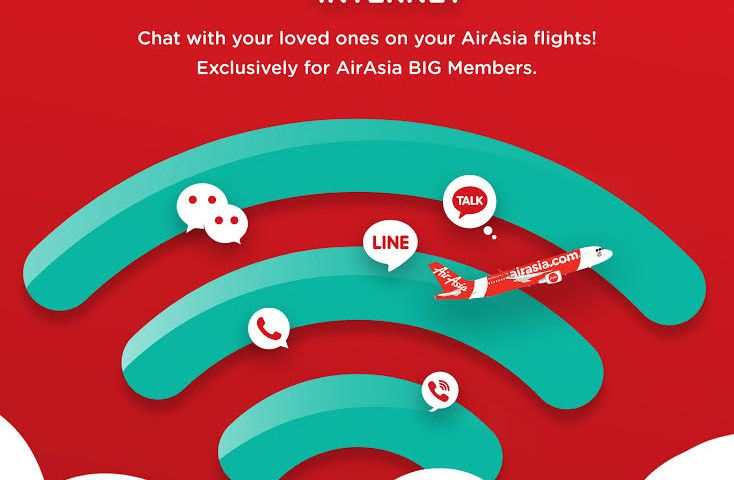 AirAsia Expands Free Inflight Internet on ROKKI Flight