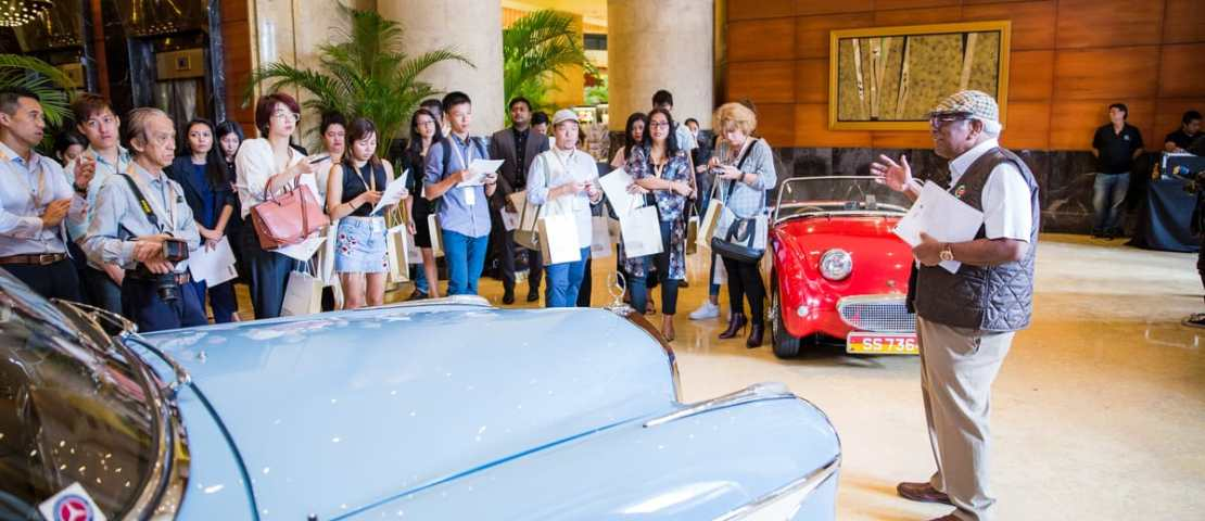 The Inaugural Fullerton Concours D'elegance To Headline The 90th Anniversary Celebration Of The Fullerton Building –  Home To The Fullerton Hotel Singapore