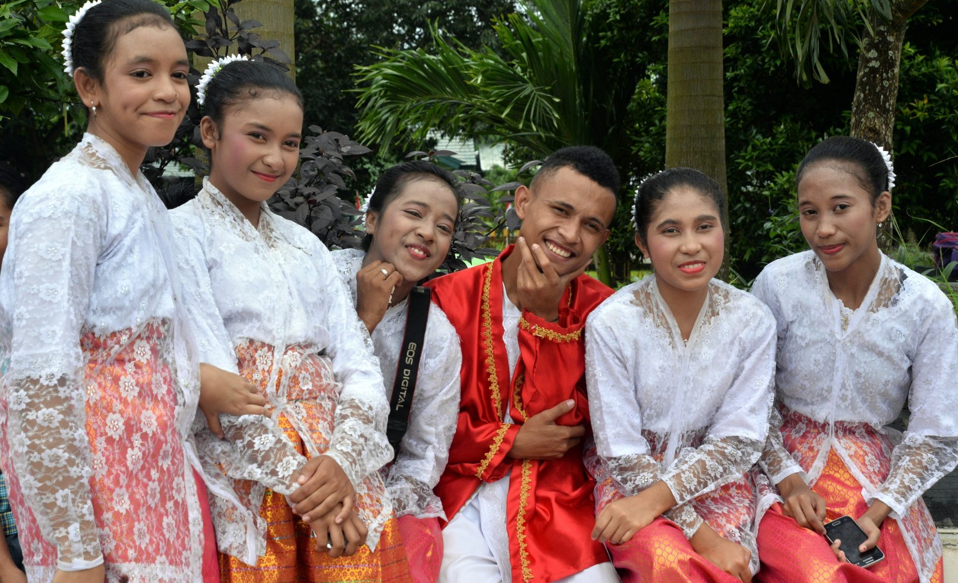 The friendly people of Maluku