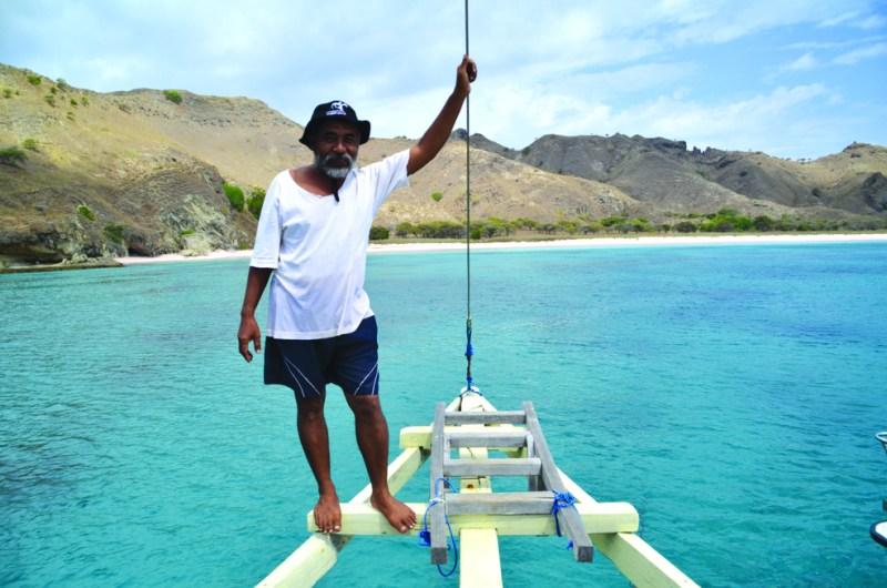 Pak Condo Subagyo, the legendary diver of Komodo National Park