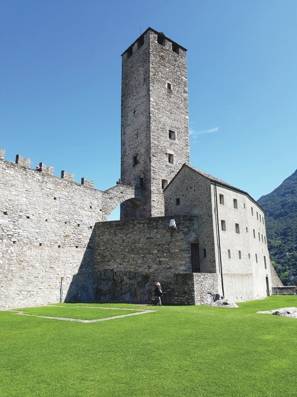 Bellinzona Grand Castle that has courtyard fit for MICE activities