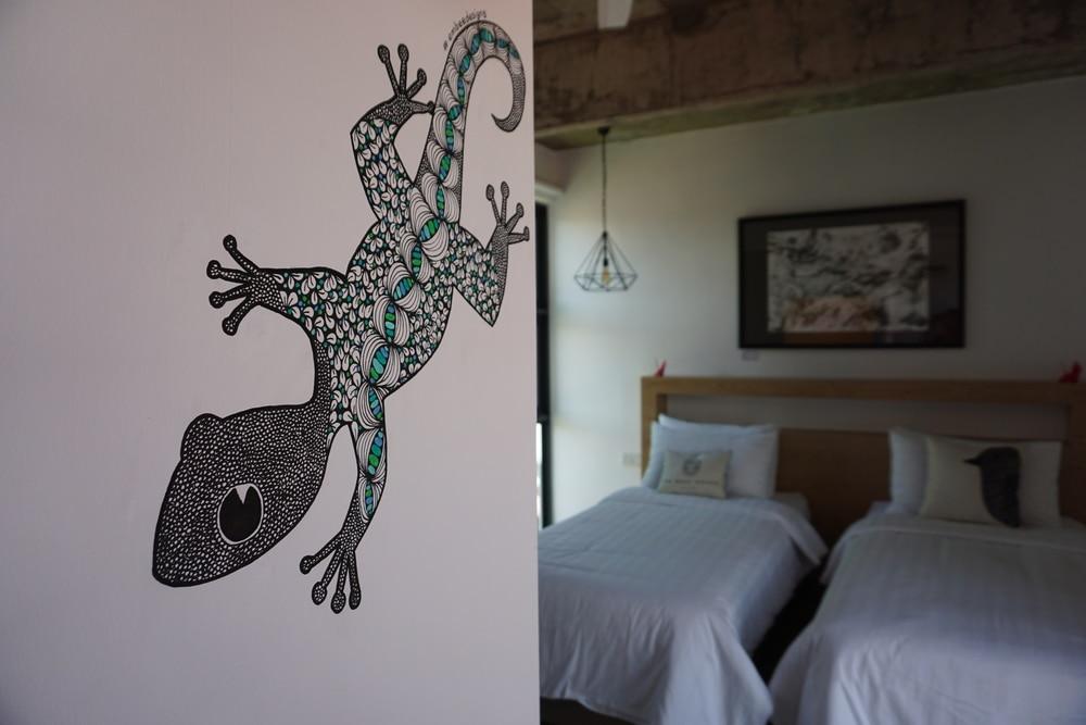 The Nest House (Doodle Art by Melanie Bayoud)
