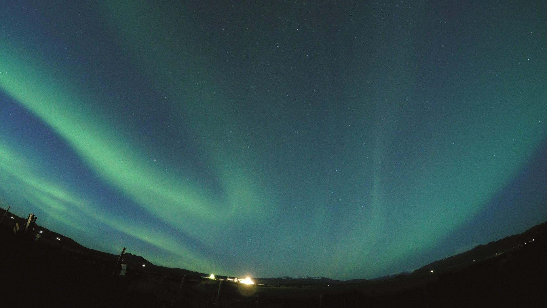 The mesmerizing aurora borealis.