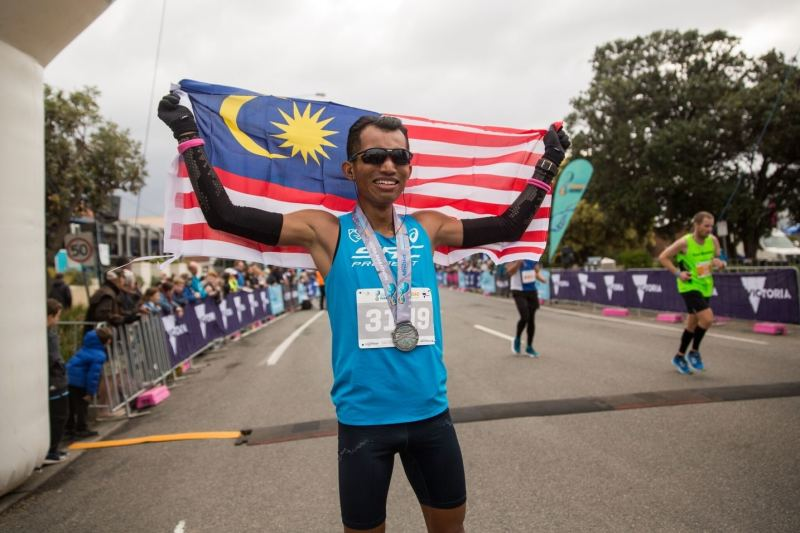 First Malaysian Runner Wins 60km Run at Great Ocean Road Running Festival 2018