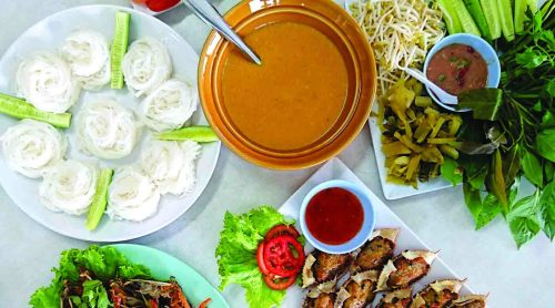 Southern Thai signature dishes.
