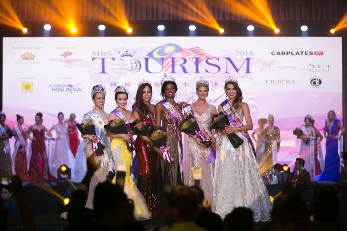 Malaysia Hosted the First Ever Mrs Tourism Queen International Pageant