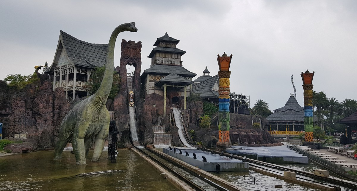 Leofoo Village Theme Park is the largest theme park in the north ofTaiwan.