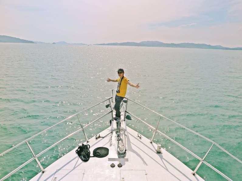 Cruising around Langkawi with Sea Splash Cruise