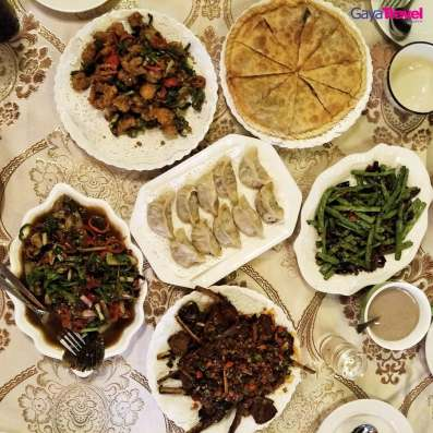 Delicious servings at Lou Lan Islam Restaurant