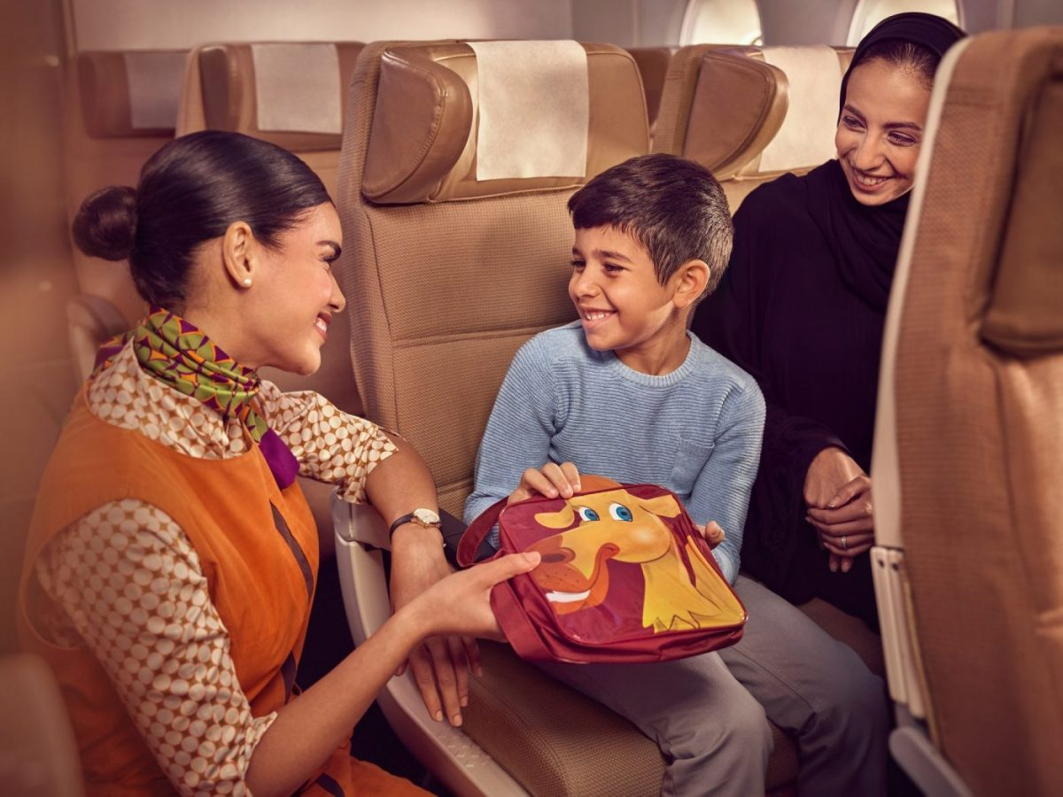Etihad Airways Builds On Partnership With Born Free And Revamps Popular Child Packs