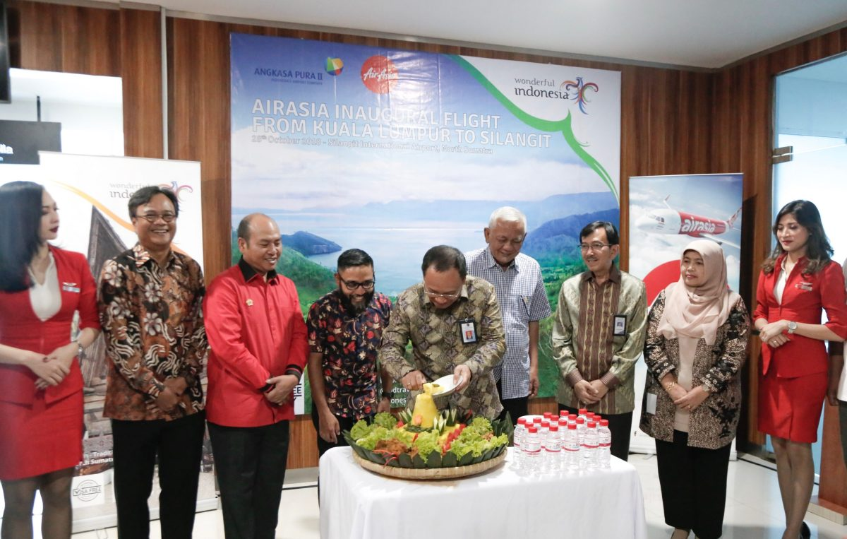 AirAsia Touches Down at Silangit Airport, Indonesia
