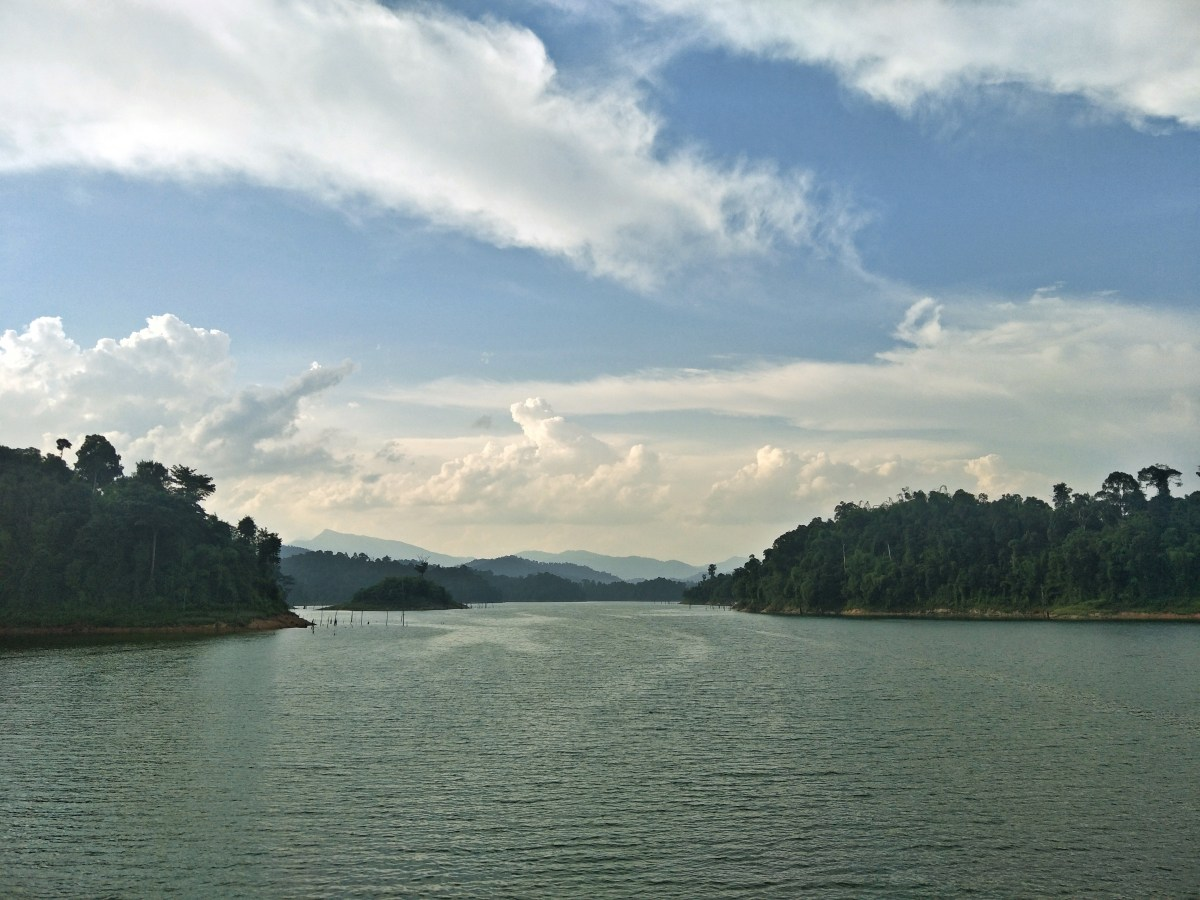 The breathtaking view of Royal Belum State Park