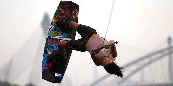 Wakeboarding in Putrajaya (Picture from website)